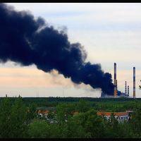 Пожар на Киришской ГРЭС, Кириши