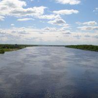 river Volkhov, Кириши