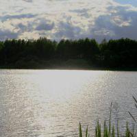 River Volhov/Солнечный блик на воде, Кириши