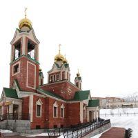 Панорама Кировска. Церковь - Panorama Kirovsk. church, Кировск