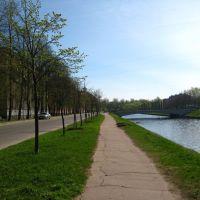 Komsomol canal, Колпино