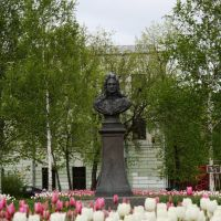 Памятник А.Д.Меншикову, Колпино