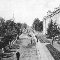 Царскосельский проспект и больница. 1913 г., Колпино