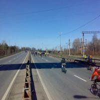 Открытие летнего велосезона 2011, Лисий Нос