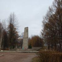 Лодейное поле. Стэлла в честь 7-й дивизии Карельского фронта, Лодейное Поле