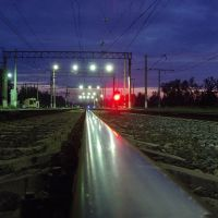 Железная дорога, Лето, 2009 год, Лодейное Поле