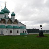 The temple in Lodeynoe Field, Лодейное Поле