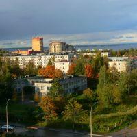 Вид из окна на золотую осень... (3 октября 2009 года), Ломоносов