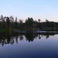 Red Pond, October 31, 2009, Ломоносов