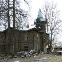 Судьба  деревянной архитектуры..., Ломоносов