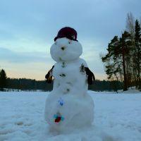 Снеговичок ))) - 4 апреля 2011 г. =0, Ломоносов