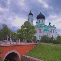 Ораниенбаум. Собор Архангела Михаила. Oranienbaum. A cathedral of Archangel Michael., Ломоносов