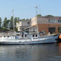 ГЕРКУЛЕС  в Сидоровском канале г. Ломоносова, Ломоносов