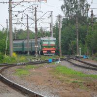 Входные пути станции Ораниенбаум I, Ломоносов