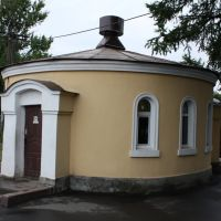 WC. Luga station., Луга