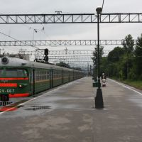 ЭР2К-667. Luga station., Луга
