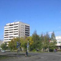 Cruce-CallePobeda-AvenidaVolodarskogo, Луга