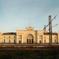 Железнодорожный вокзал на станции Луга-I, Луга