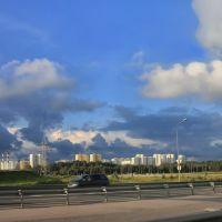 Sankt-Peterburg. Ring highway., Парголово