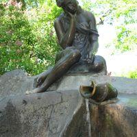 Im Park vom Katharienpalast, Петродворец