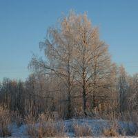 Winter in my town, Подпорожье