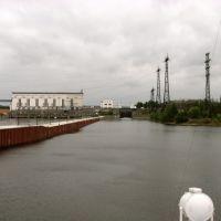 Верхнесвирский гидроузел, Подпорожье