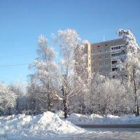 В городе Подпорожье зимой, Подпорожье