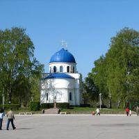 Orthodox church in Käkisalmi, Приозерск