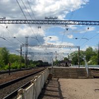Приозерск. 2008.05.30. Станция., Приозерск
