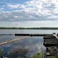 Приозерск. 2008.05.30. Озеро Вуокса, Приозерск
