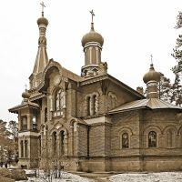 Подворье Валаамского монастыря в Приозерске. Церковь всех святых, Приозерск