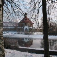 Крепость Корела зимой январь 2007, Приозерск