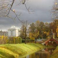 Вид с Китайского моста., Пушкин