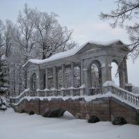 Пу́шкин - Екатерининский Парк - Мраморный мост - Pushkin - Catherine Park - The Marble Bridge, Пушкин