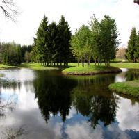 Pushkin (Tsarskoye selo). Catherine  Park.  /  Царское Село.Екатерининский парк., Пушкин