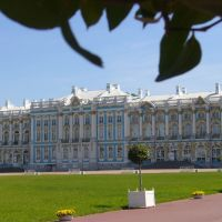 Pushkin - Katharinenpalast - Hauptgebäude -, Пушкин