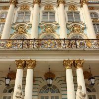 У Екатерининского дворца, Пушкин