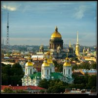 St. Petersburg - a city of spectacular architecture and a golden dome!, Санкт-Петербург