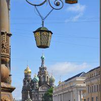 Питерские зарисовки. Фонари на канале Грибоедова, Санкт-Петербург