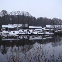 рыбацкие лодки, Сестрорецк