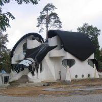 Сестрорецк. Дом в стиле Гауди (арх. Борис  Левинзон), Сестрорецк