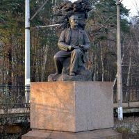CАНКТ-ПЕТЕРБУРГ (Разлив). Задумчивый Ленин. / Saint Petersburg. Monument to Lenin., Сестрорецк
