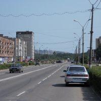 2010. Улица в Сланцах., Сланцы