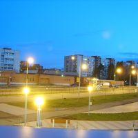 Вид из окна. Липовский 3а., Сосновый Бор