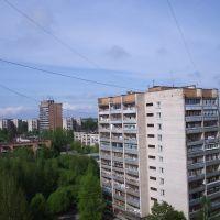 Вид в сторону 14-этажки, Сосновый Бор