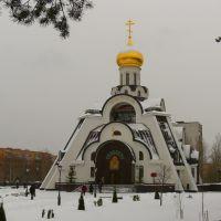 Храм иконы Божией Матери НЕОПАЛИМАЯ КУПИНА, Сосновый Бор