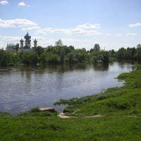 Monastery behind Tikhvinka, Тихвин