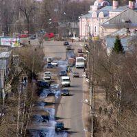 Вид на Площадь Свободы и Улицу Карла Маркса(Type on the Area of Freedom and Charles Marxs Street), Тихвин