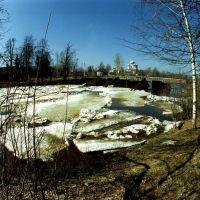 Шлюз Тихвинский (2000 г.)(The gateway Tikhvin-ice drift), Тихвин