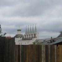 вид на Тихвинский Богородичный Успенский монастырь, Тихвин